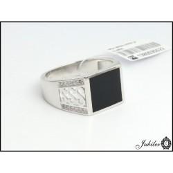 Srebrny sygnet męski (1380035522)