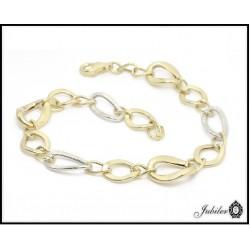 Piękna i wyjątkowa bransoletka złota (1380034268)