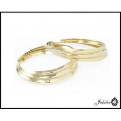 Piękne KOLCZYKI koła, złoto p 585 (14K)  7547961970