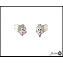 Srebrne kolczyki dla dzieci typu Jeery (7224658548)
