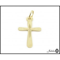 Gold pendant cross (28339)