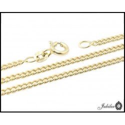 Złoty łańcuszek - pancerka (01236)
