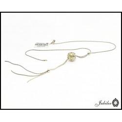Srebrny naszyjnik z kulą (05569)