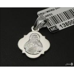 Rodowany srebrny medalik (30750) M082