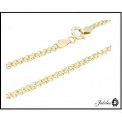 Piękna złota bransoletka (31366)