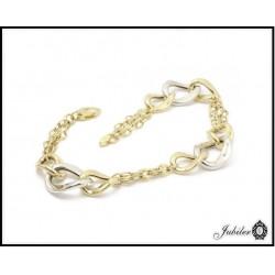 Piękna i wyjątkowa bransoletka złota (1380034270)