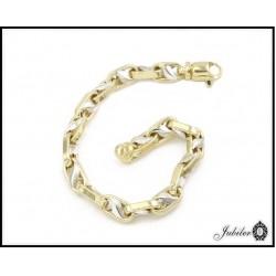Piękna i wyjątkowa bransoletka złota (13800