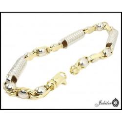 Piękna i wyjątkowa bransoletka złota (1380034274)