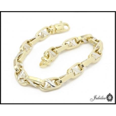 Piękna i wyjątkowa bransoletka złota (1380034277)
