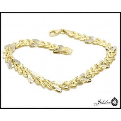 Beautiful gold bracelet (28430)