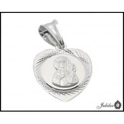 Srebrny medalik z krzyżykiem (30501,30504)
