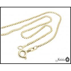 Delikatny złoty łańcuszek (28323)