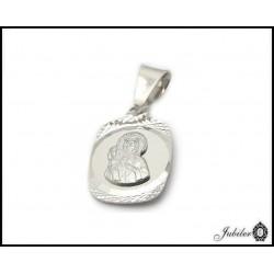 Srebrny medalik - Matka Boska (31536,31537)
