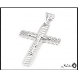 srebrny krzyżyk - zawieszka (30377,30381)