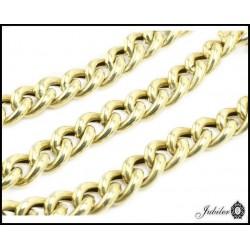 Piękna złota bransoletka (08845)