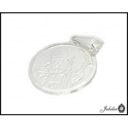 Srebrny medalik Jan Paweł II (31591,31593)