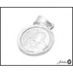 Srebrny medalik Jan Paweł II (31576,31577)