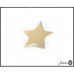Zawieszka do naszyjnika - celebrytki, motyw: owal - złoto 585