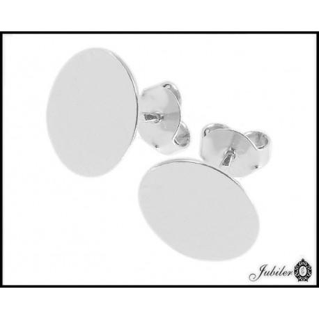 Srebrne kolczyki - celebrytki duże koła (33171-33175)