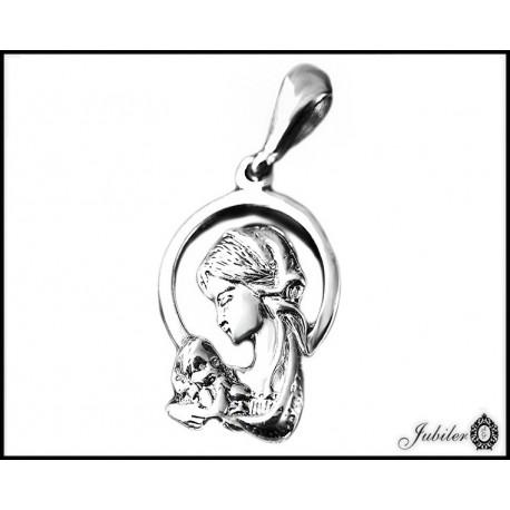 Srebrny medalik (30703) MD043