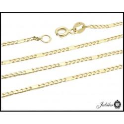 Łańcuszek 50cm złoty splot pancerka próba 585 8341139356