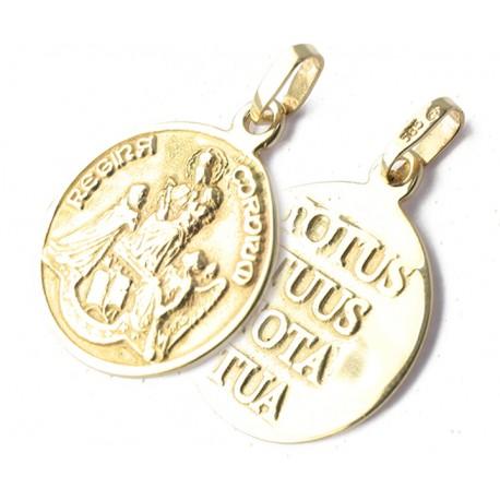 Złoty Medalik Totus Tus Tota Tua p. 585