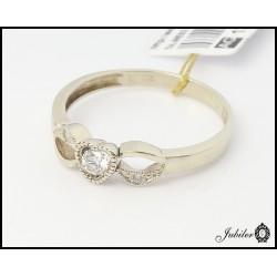 Złoty pierścionek z brylantami (26309)