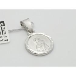 Srebrny medalik - zawieszka (30462,30464)