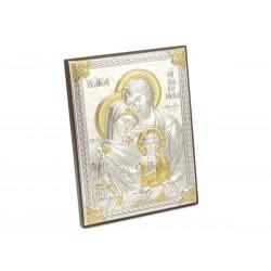 Posrebrzany obrazek - Pamiątka Chrztu Św. (1380033767)