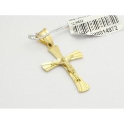 Piękny złoty krzyżyk (1380033972)