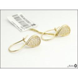 Złote kolczyki z zapięciem angielskim (26471)